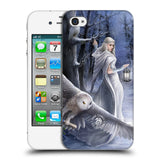 Official Anne Stokes Owls Hard Back Case for Apple iPhone 4 / 4S