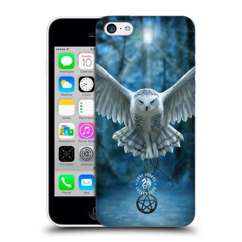 Official Anne Stokes Owls Hard Back Case for Apple iPhone 5c