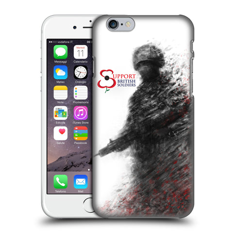 Support British Soldiers Sbs Official Support British Soldiers SBS Official Hard Back Case for Apple iPhone 6 / 6s
