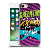Official Green Day Key Art Hard Back Case for Apple iPhone 7
