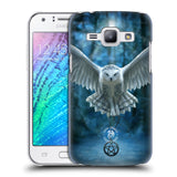 Official Anne Stokes Owls Hard Back Case for Samsung Galaxy J1