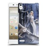 Official Anne Stokes Owls Hard Back Case for Huawei Stream S 302HW
