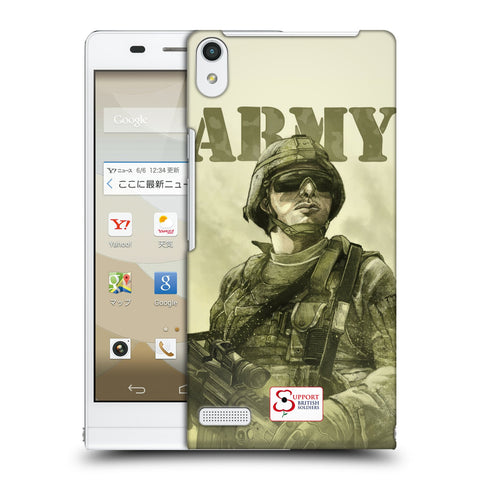 Support British Soldiers Sbs Official British Troops Hard Back Case for Huawei Stream S 302HW