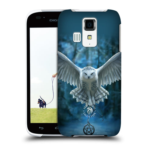 Official Anne Stokes Owls Hard Back Case for Kyocera Digno T 302KC TD-LTE