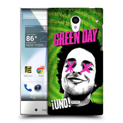 Official Green Day Key Art Hard Back Case for Sharp Aquos Crystal 305SH
