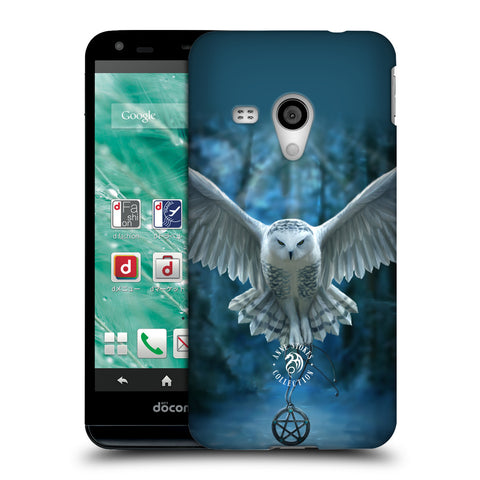 Official Anne Stokes Owls Hard Back Case for Sharp Aquos EX SH-02F