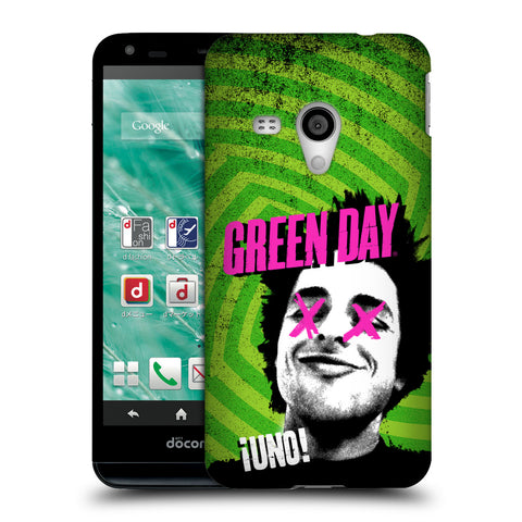 Official Green Day Key Art Hard Back Case for Sharp Aquos EX SH-02F