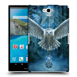 Official Anne Stokes Owls Hard Back Case for Sharp Aquos Pad SH-06F