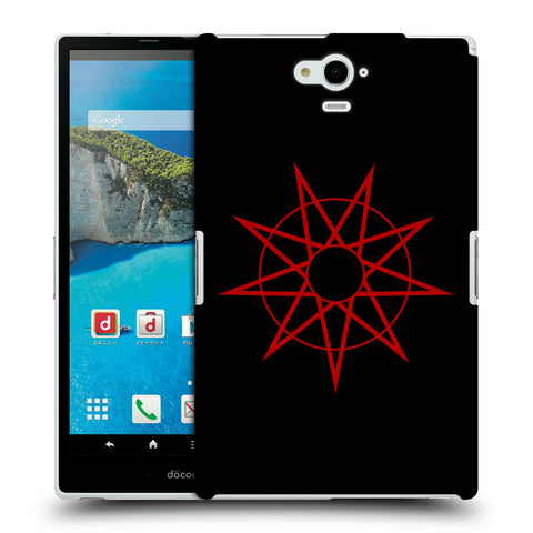 Official Slipknot Key Art Hard Back Case for Sharp Aquos Pad SH-06F