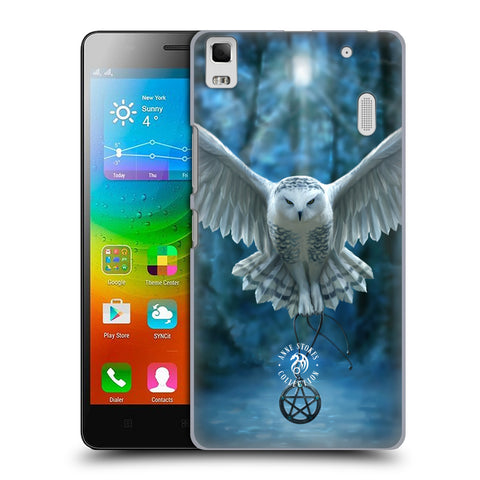Official Anne Stokes Owls Hard Back Case for Lenovo K3 Note / A7000