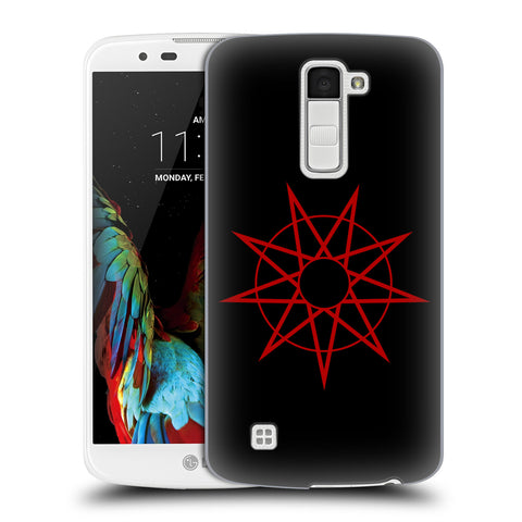 Official Slipknot Key Art Hard Back Case for LG K10 / K10 Dual SIM