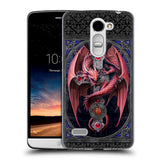 Official Anne Stokes Tribal Hard Back Case for LG Ray / Zone