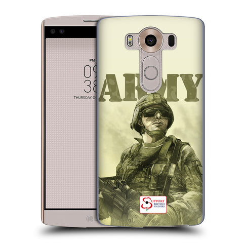Support British Soldiers Sbs Official British Troops Hard Back Case for LG V10