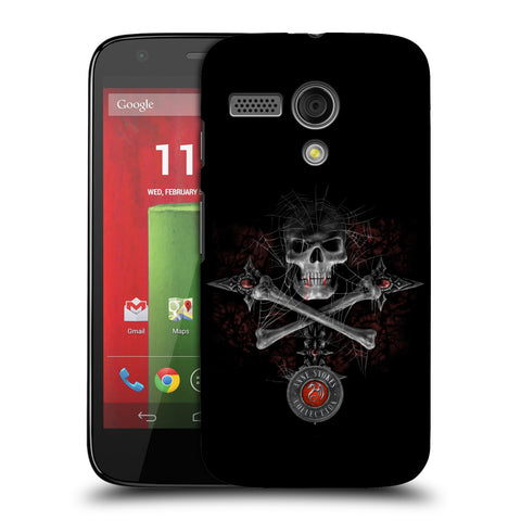 Official Anne Stokes Tribal Hard Back Case for Motorola Moto G (1st Gen)
