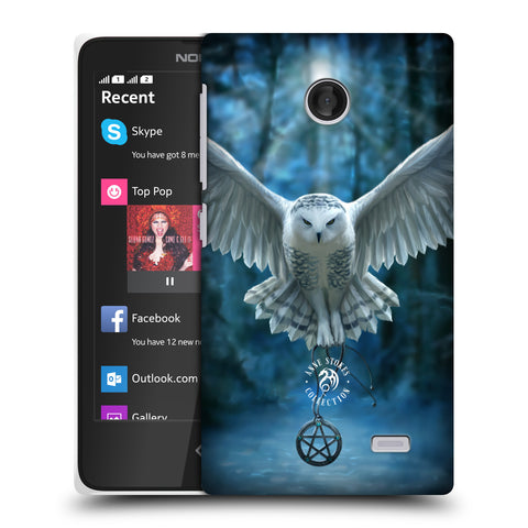 Official Anne Stokes Owls Hard Back Case for Nokia X / X Dual SIM