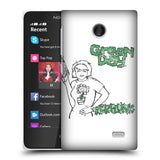 Official Green Day Key Art Hard Back Case for Nokia X / X Dual SIM