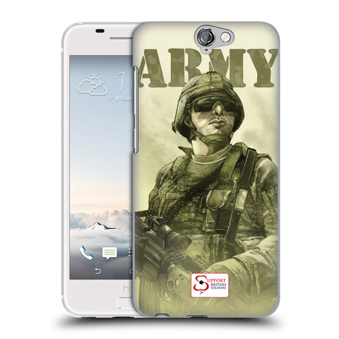 Support British Soldiers Sbs Official British Troops Hard Back Case for HTC One A9