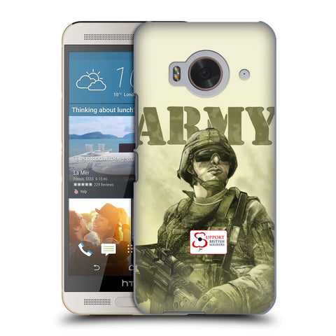 Support British Soldiers Sbs Official British Troops Hard Back Case for HTC One ME
