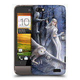 Official Anne Stokes Owls Hard Back Case for HTC One V