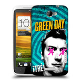 Official Green Day Key Art Hard Back Case for HTC One X / XT