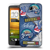 Official Selena Gomez Revival Art Hard Back Case for HTC One X / XT