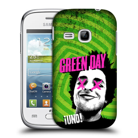 Official Green Day Key Art Hard Back Case for Samsung Galaxy Young S6310