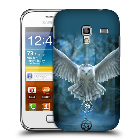 Official Anne Stokes Owls Hard Back Case for Samsung Galaxy Ace Plus S7500