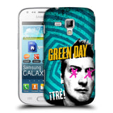 Official Green Day Key Art Hard Back Case for Samsung Galaxy S Duos S7562