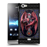 Official Anne Stokes Tribal Hard Back Case for Sony Xperia Miro / ST23i