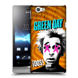 Official Green Day Key Art Hard Back Case for Sony Xperia Miro / ST23i