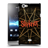 Official Slipknot Key Art Hard Back Case for Sony Xperia Miro / ST23i