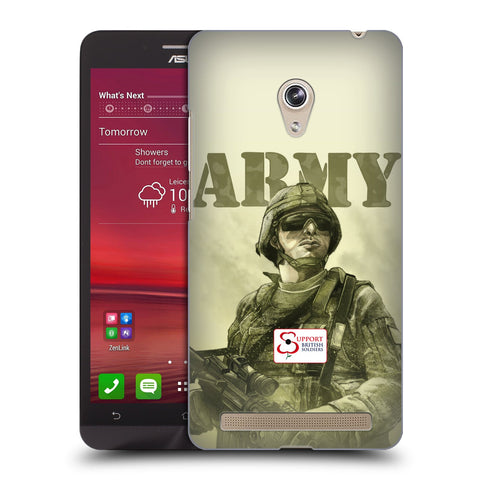 Support British Soldiers Sbs Official British Troops Hard Back Case for Asus Zenfone 6