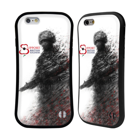 Support British Soldiers Sbs Official Support British Soldiers SBS Official Hybrid Case for Apple iPhone 6 / 6s