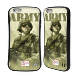 Support British Soldiers Sbs Official British Troops Hybrid Case for Apple iPhone 6 Plus / 6s Plus