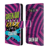 Official Green Day Key Art Leather Book Wallet Case Cover For Samsung Galaxy A3