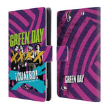 Official Green Day Key Art Leather Book Wallet Case Cover For Sony Xperia C4 / E5303 / E5306