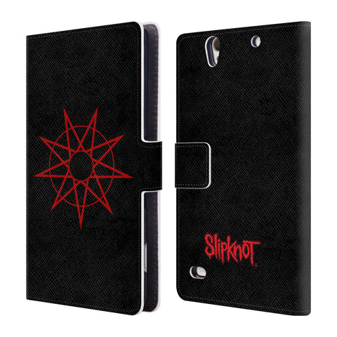 Official Slipknot Key Art Leather Book Wallet Case Cover For Sony Xperia C4 / E5303 / E5306