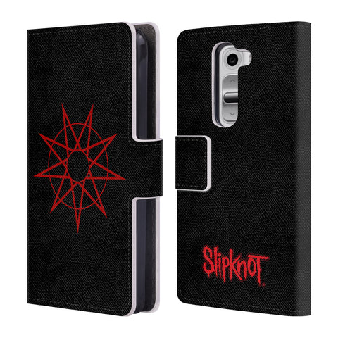 Official Slipknot Key Art Leather Book Wallet Case Cover For LG G2 mini / D618 Dual SIM