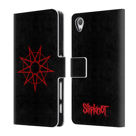 Official Slipknot Key Art Leather Book Wallet Case Cover For Sony Xperia X / X Dual