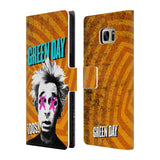 Official Green Day Key Art Leather Book Wallet Case Cover For Samsung Galaxy S7 edge