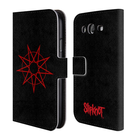 Official Slipknot Key Art Leather Book Wallet Case Cover For Samsung Galaxy Grand I9080