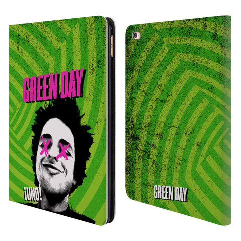 Official Green Day Key Art Leather Book Wallet Case Cover For Apple iPad Air 2