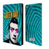 Official Green Day Key Art Leather Book Wallet Case Cover For Apple iPad mini 4