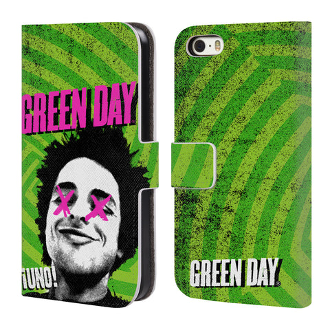 Official Green Day Key Art Leather Book Wallet Case Cover For Apple iPhone 5 / 5s / SE