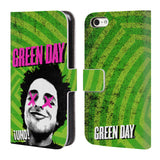 Official Green Day Key Art Leather Book Wallet Case Cover For Apple iPhone 5c
