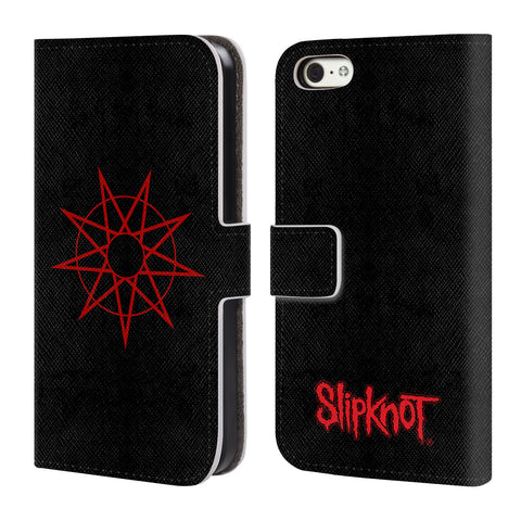Official Slipknot Key Art Leather Book Wallet Case Cover For Apple iPhone 5c