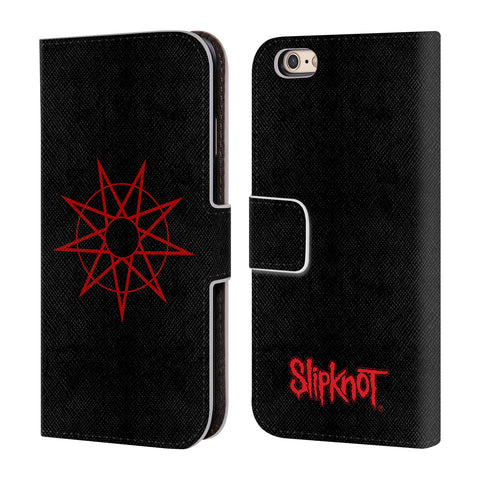 Official Slipknot Key Art Leather Book Wallet Case Cover For Apple iPhone 6 / 6s