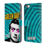 Official Green Day Key Art Leather Book Wallet Case Cover For Apple iPhone 6 Plus / 6s Plus
