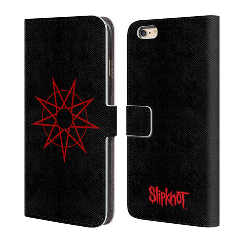 Official Slipknot Key Art Leather Book Wallet Case Cover For Apple iPhone 6 Plus / 6s Plus