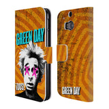 Official Green Day Key Art Leather Book Wallet Case Cover For HTC One M8 / M8 Dual Sim